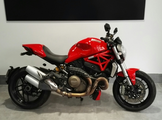 ducati monster 1200 abs moto d 39 occasion outsider. Black Bedroom Furniture Sets. Home Design Ideas